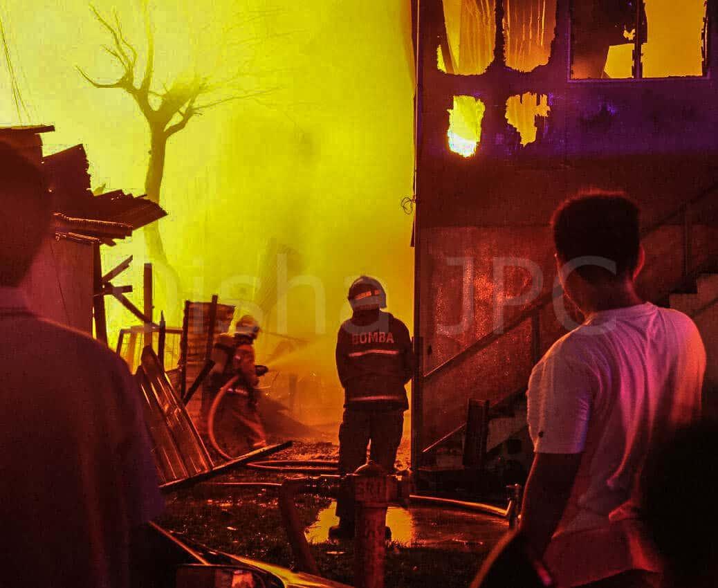 Kebakaran Kg Sembulan, Kota Kinabalu – 26 Disember 2019