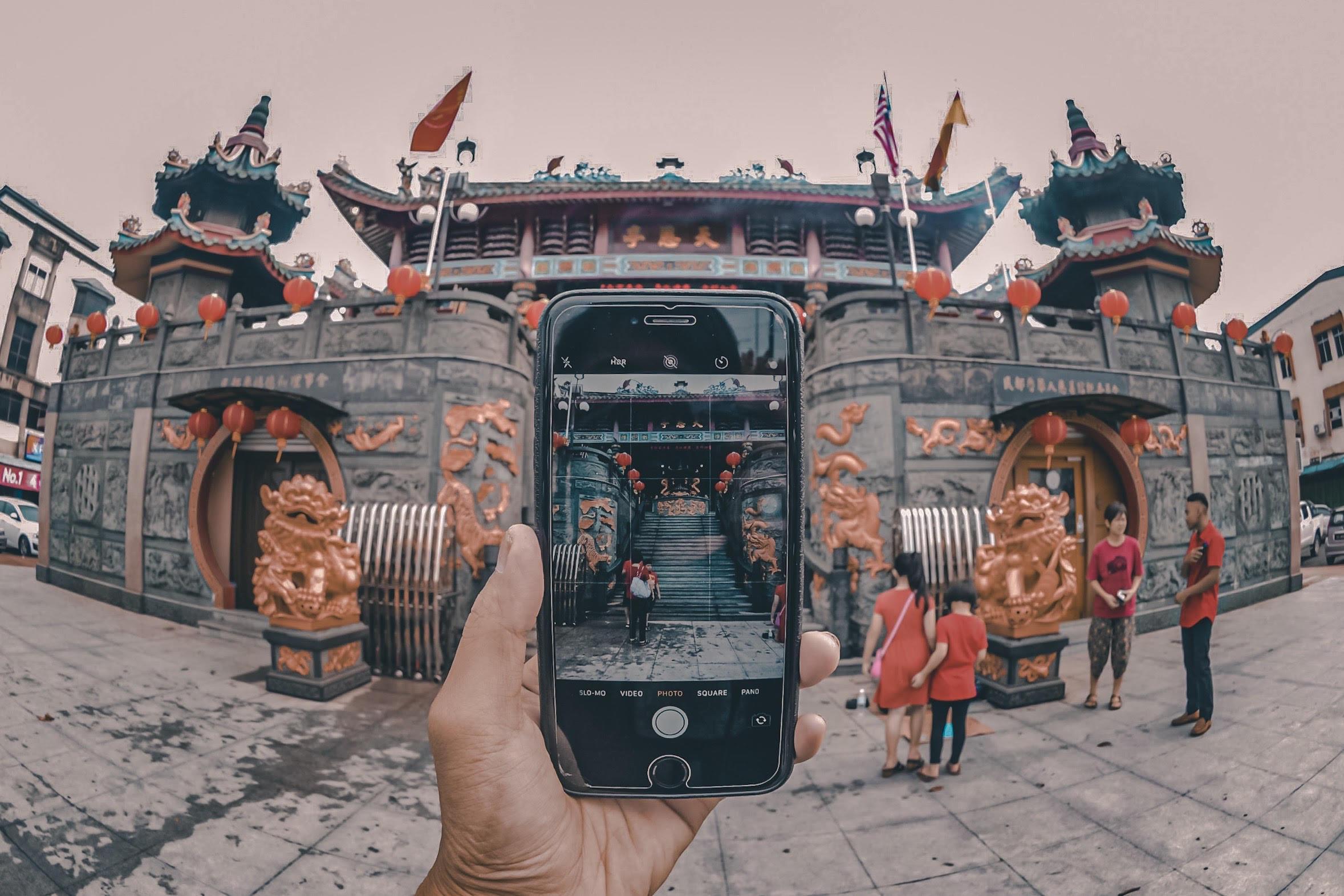 Kuil Taoist Tua Pek Kong – Muhammad Danish Bintulu